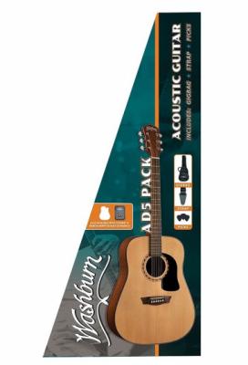 WASHBURN AD 5 (N) PACK gitara akustyczna