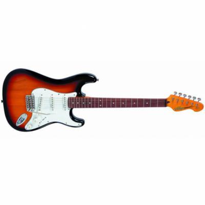 Vintage V6SSB - Gitara Elektryczna Sunburst