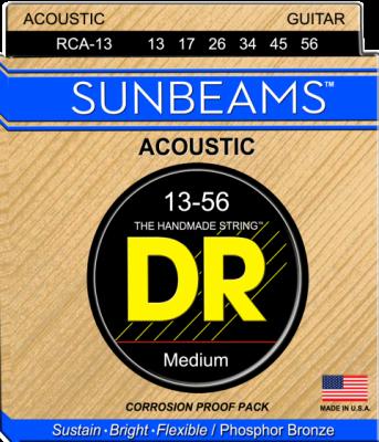 DR struny do gitary akustycznej SUNBEAM Phosphor Bronze 13-56