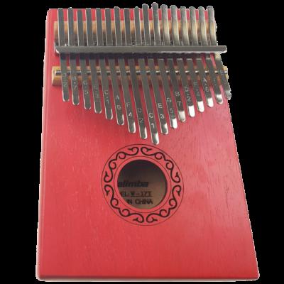 JEREMI W-17T-7 - kalimba czerwona
