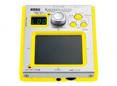 Korg Kaossilator Yellow