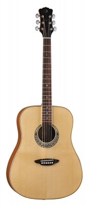 Luna Muse Dreadnought Natural - gitara akustyczna-5442