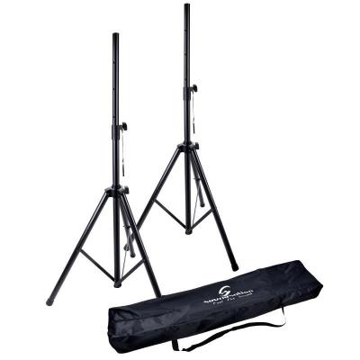 Soundsation SPST-SET AIR BK - zestaw statywów kolumnowych-12859