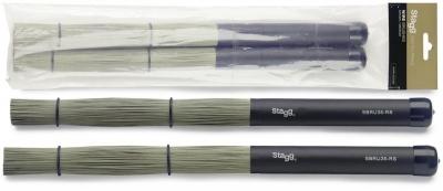Stagg SBRU35-RS - miotełki perkusyjne-13506