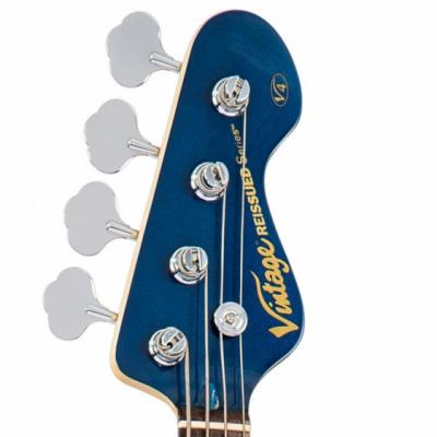 Vintage Gitara basowa V4 BAYVIEW BLUE