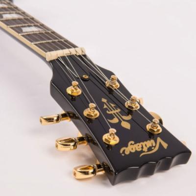 Vintage Gitara elektryczna V100 W/W90 PICKUPS GLOSS BLACK