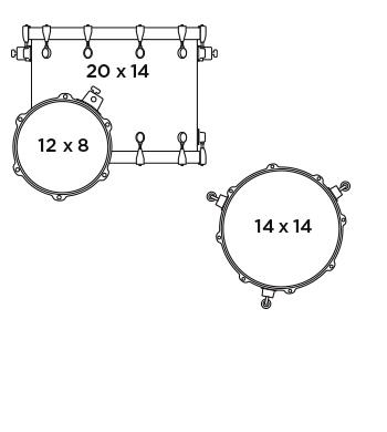 MAPEX SVTE401X VS Zestaw Perkusyjny