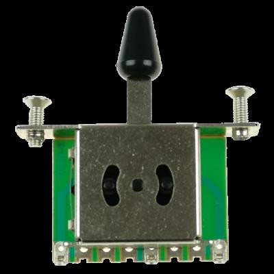 Kera Audio 3P/SQ/ST/Czarny - Przełącznik 3-pozycyjny