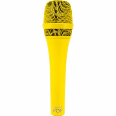 MXL POP LSM-9 - Mikrofon dynamiczny żółty
