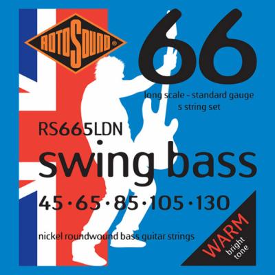 Rotosound RS665LDN - 5 strun bas [45-130] niklowane
