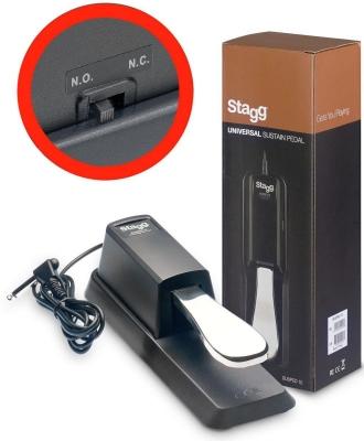 Stagg SUSPED 10 - pedał sustain uniwersalny-12197