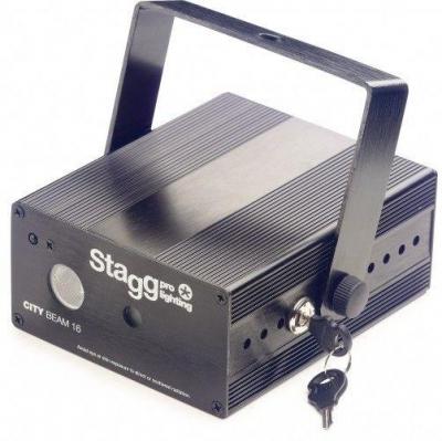 Stagg SSLR CITY 16-2 BK - laser-2540