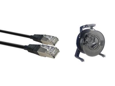 Stagg NCC50RJRL - kabel sieciowy 50m, Rolka-11442