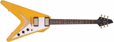 Vintage V60TA Trans Amber - gitara elektryczna