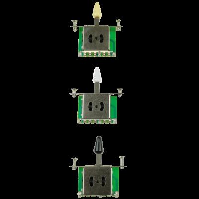 Kera Audio 3P/SQ/ST/Kremowy - Przełącznik 3-pozycyjny