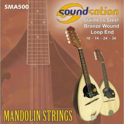 Soundsation MA500 Light - struny do mandoliny-12555