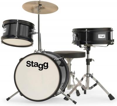 Stagg TIM-J 3/12 BK - akustyczny zestaw perkusyjny-6196