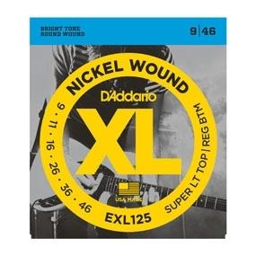 D'Addario EXL125 9-46 - struny do gitary elektrycznej