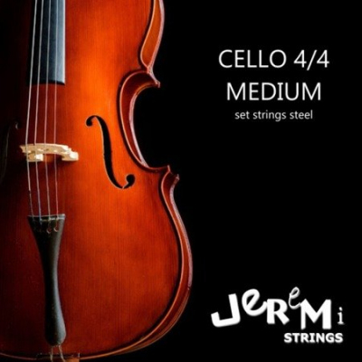 JEREMI CELLO STRINGS 4/4 Struny do wiolonczeli 4/4