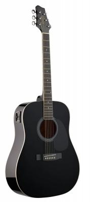 Stagg SW-201 EQ BK - gitara elektroakustyczna-6171
