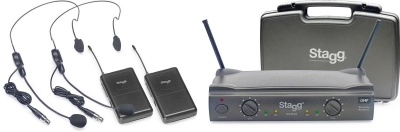 Stagg SUW 50 HH FH EU - bezprzewodowy system UHF-13516