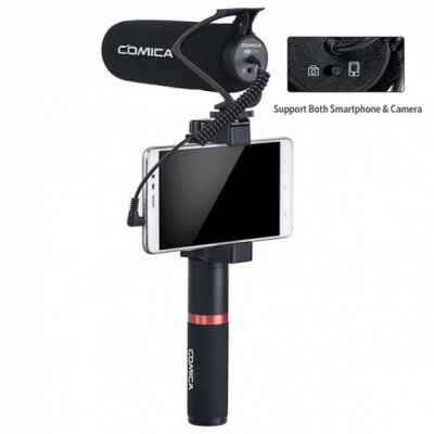Comica CVM-V30LITE B - mikrofon do kamery, aparatu, smartfona
