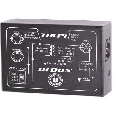 Topp Pro TP TDIP1 - DI-Box pasywny-13551