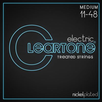 Cleartone struny do gitary elektrycznej 11-48