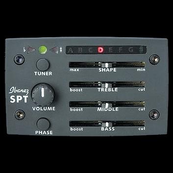 Ibanez AEB8E-BK - bas akustyczny