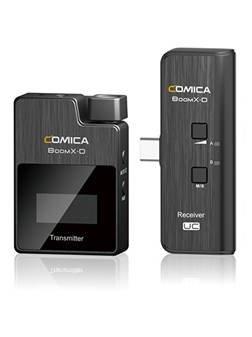 Comica BoomX-D UC1 - bezprzewodowy system mikrofonowy do kamery, aparatu, smartfona