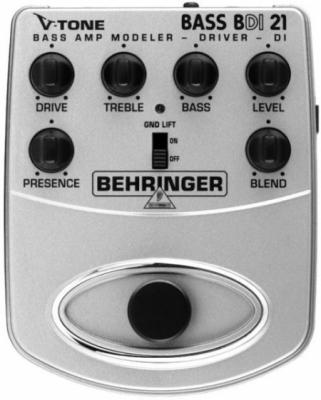 Behringer BDI21 Bass Amp Modeler/ Preamp/ DI-Box