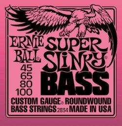Ernie Ball Slinky 2834 45-100 - struny do gitary basowej