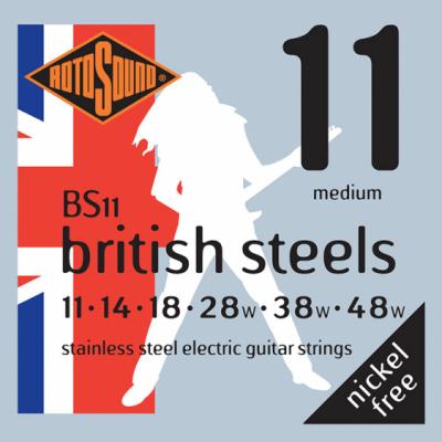 Rotosound BS11 Medium [11-48] stalowe struny do gitary elektrycznej