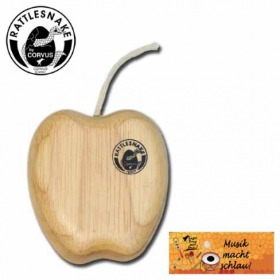 Corvus Rattlesnake Shaker drewniany jabłko