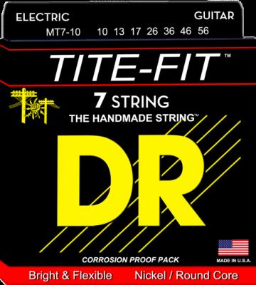 DR struny do gitary elektrycznej TITE-FIT 10-56 7-str