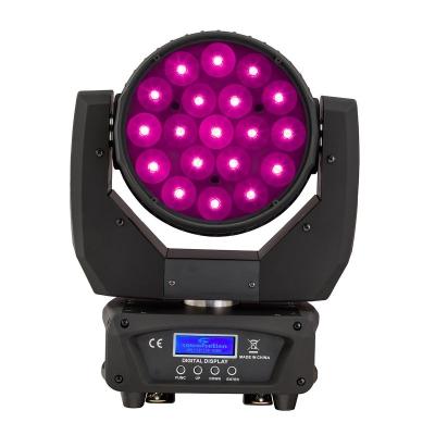 Soundsation MHL-19-12W-RGBW SET - zestaw 4 ruchome głowy LED-12169