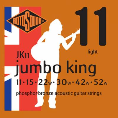 Rotosound JK11 [11-52] brąz fosforowy struny do gitary akustycznej