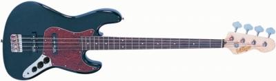 Vintage VJ74BLK Gloss Black - gitara basowa