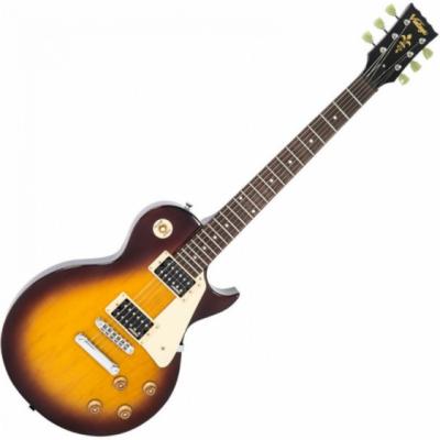 Vintage Gitara elektryczna V100 TOBACCO SUNBURST