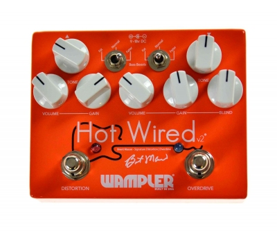 Wampler Hot Wired V2 - efekt gitarowy-13169