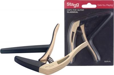 Stagg SCPX-FL CL - kapodaster do gitary klasycznej-12761
