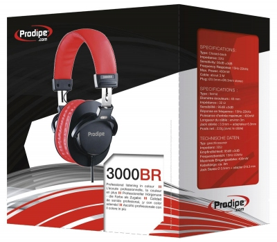 Prodipe 3000BR - profesjonalne słuchawki studyjne-4325