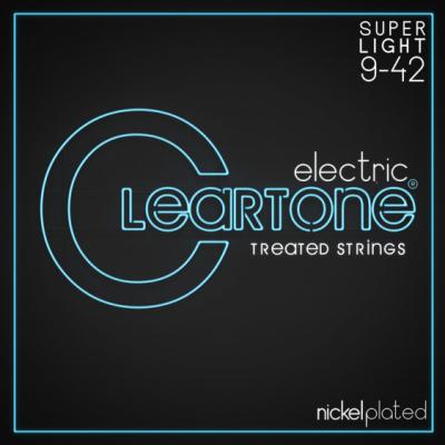 Cleartone struny do gitary elektrycznej 9-42