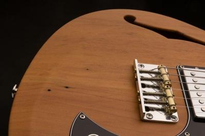 PRS Reclaimed Wood S2 Vela Semi Hollow - gitara elektryczna USA, edycja limitowana-13414
