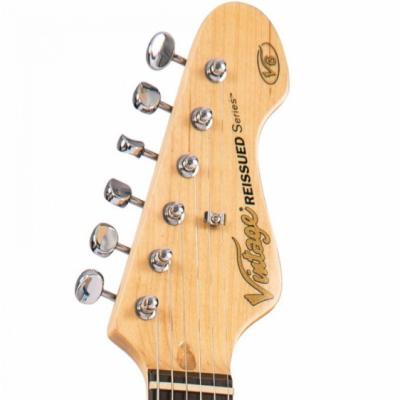 Vintage Gitara elektryczna V6CAB CANDY APPLE BLUE