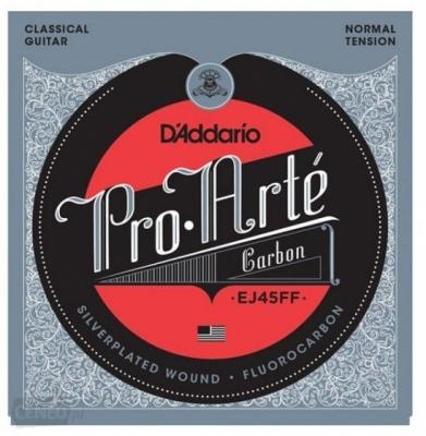 D'addario EJ45FF Struny do gitary klasycznej