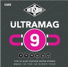 Rotosound UM9 - 6 strun do gitary elektrycznej [9-42] nikiel/ żelazo