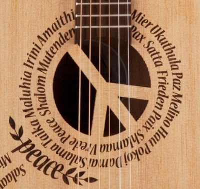 Luna Safari Peace - gitara akustyczna 3/4-2695