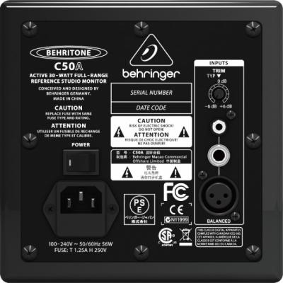 Behringer C50A - aktywny monitor studyjny 30 W