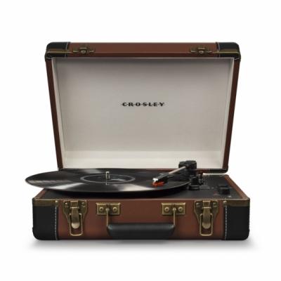 CROSLEY Executive Brown – Gramofon walizkowy